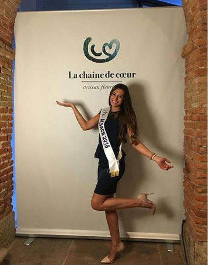 Miss France 2019 : Miss Alsace, Léa Reboul