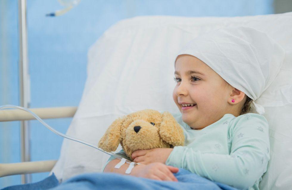 Atteinte d'un cancer, cette petite fille voit son rêve devenir réalité (Photos)