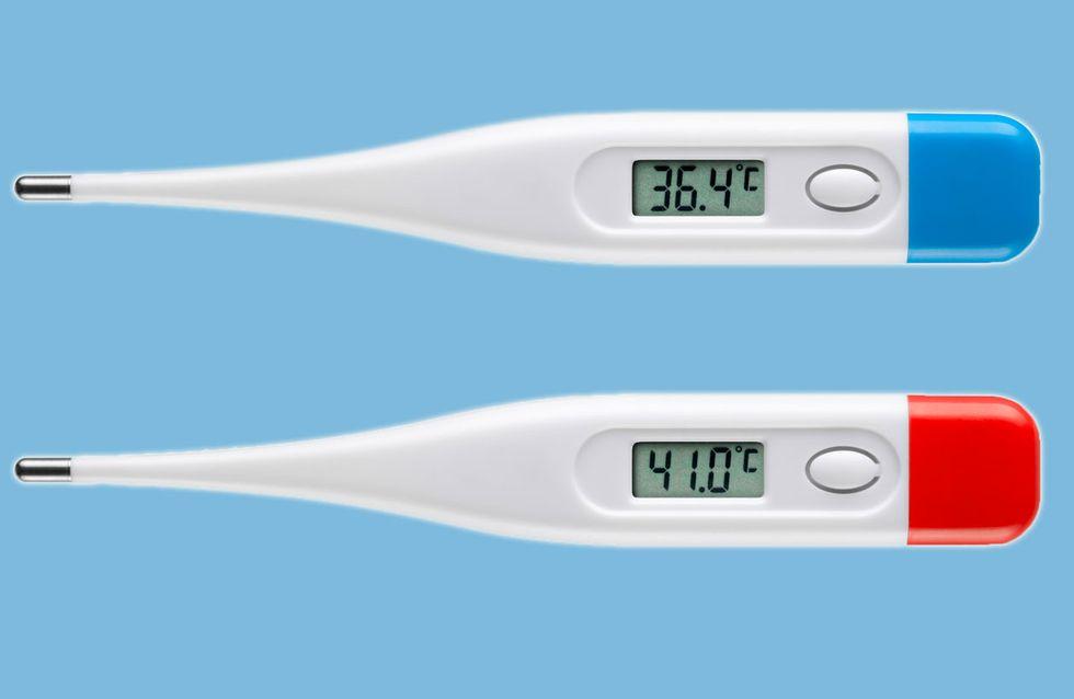 Ab wann hat man Fieber und wann nur erhöhte Temperatur?