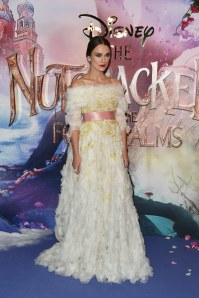 Keira Knightley, sublime avec une robe digne d'une princesse