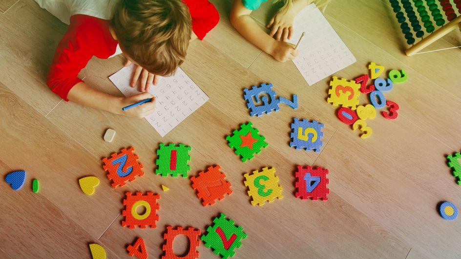 7 juguetes para mejorar las habilidades matemáticas de tus hijos