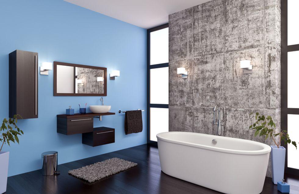 Muebles y accesorios bonitos para tener un baño 10