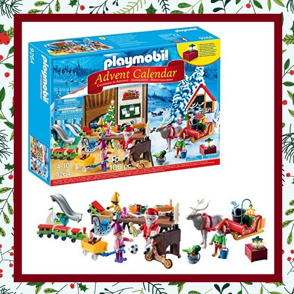 Calendario Avvento Playmobil.Calendari Dell Avvento Per Bambini Senza Cioccolato E Con Lo