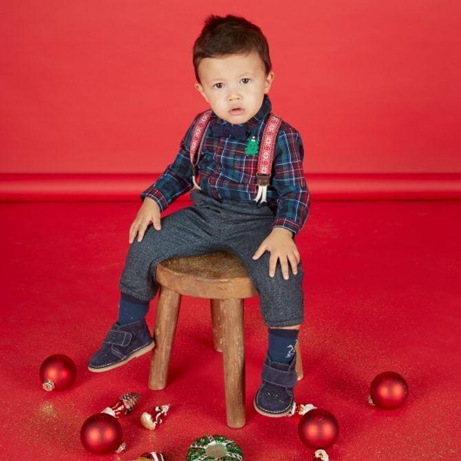 Chemise à carreaux bébé garçon
