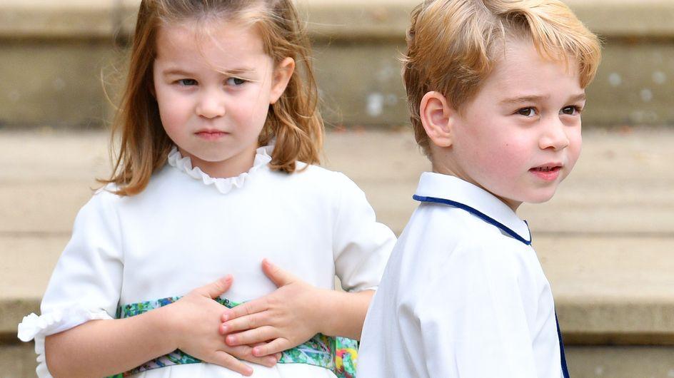 L'adorable fou rire de George et Charlotte pour les 70 ans du prince Charles