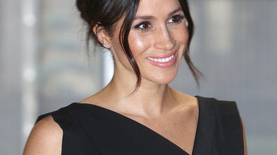 Meghan Markle, sa petite robe noire à 50€ est notre coup de coeur du moment