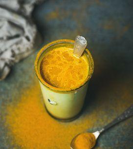 Golden latte, le fameux lait d'or au curcuma qui booste l'organisme