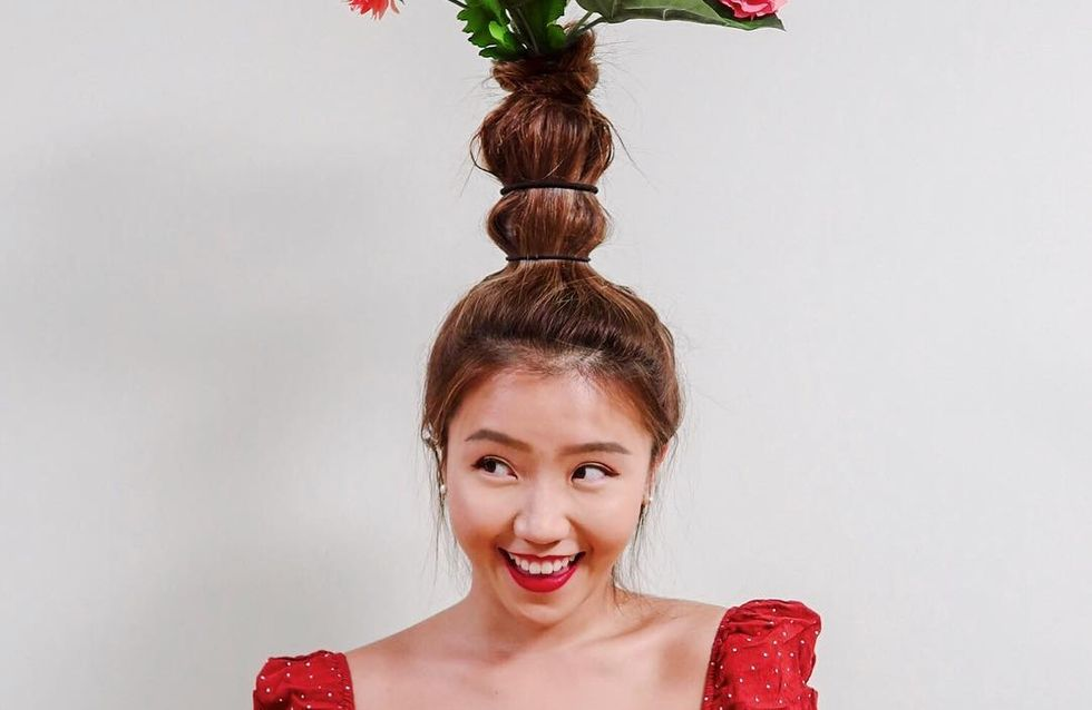 Flower Vase Hair, la tendance coiffure qui a perdu la tête