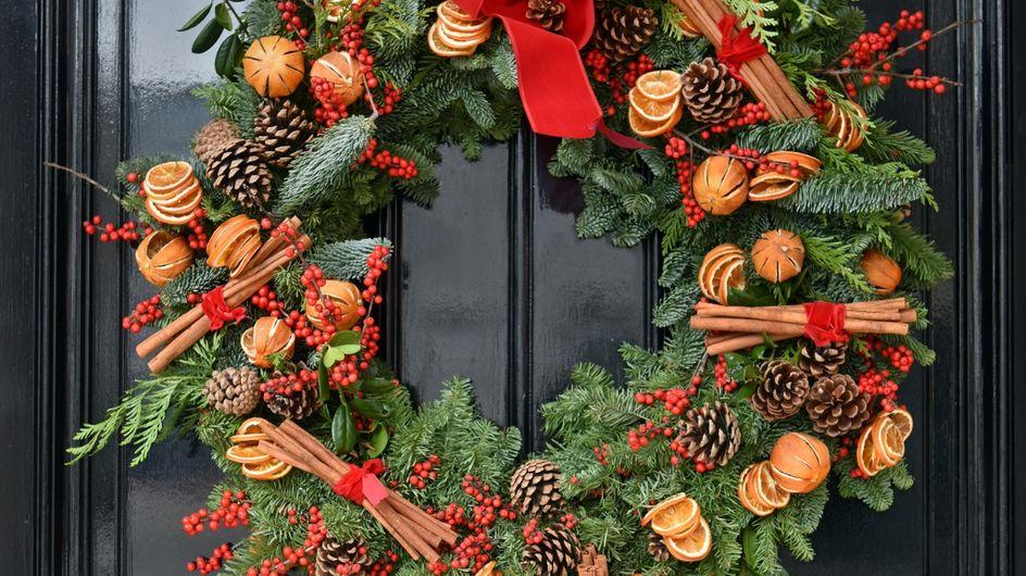 Immagini Di Ghirlande Di Natale.Ghirlande Natalizie Fai Da Te Facili Da Realizzare 5 Idee Top