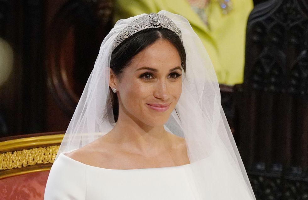 Meghan Markle, pourquoi la reine Elizabeth II n'a jamais apprécié sa robe de mariée