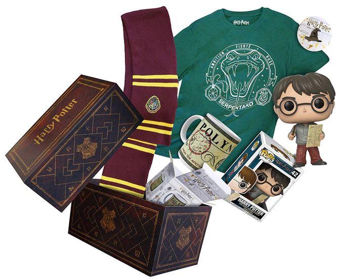 La Box Harry Potter et son contenu