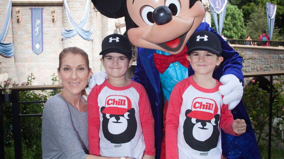 """Céline Dion, ses adorables confidences sur ses jumeaux """"si différents"""""""