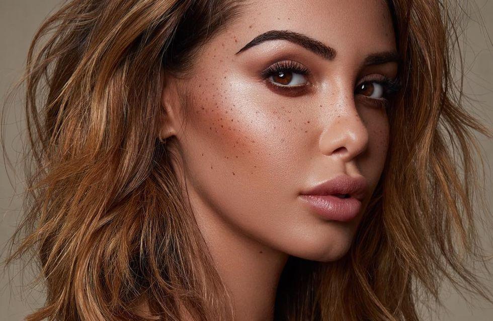 On adore ! Nabilla dévoile les produits de sa propre marque de maquillage