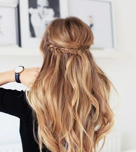 Semi recogido: el peinado más deseado