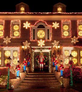 Las casas decoradas de Navidad más espectaculares