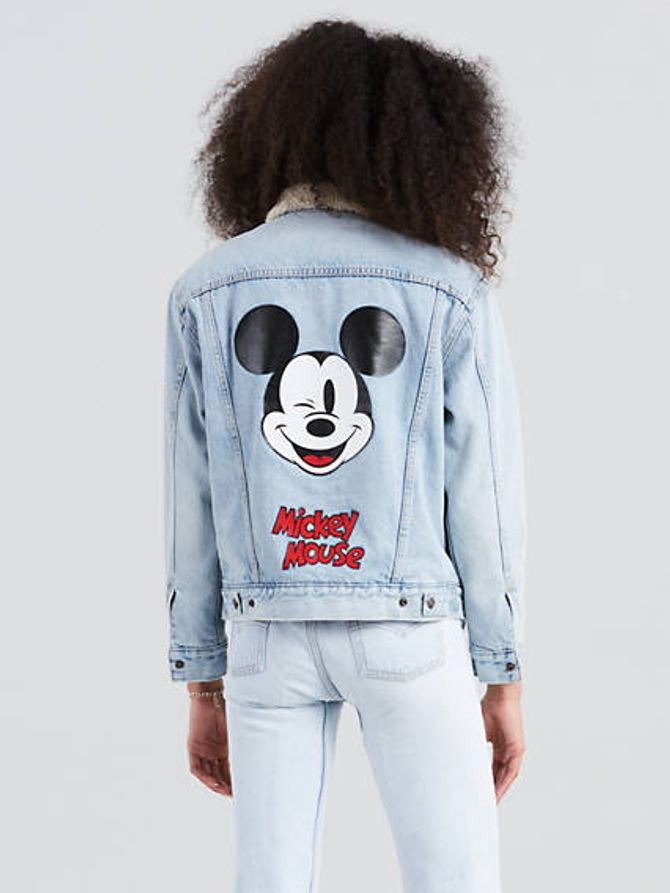 Sherpa Trucker Jacket, Levi's x Mickey Mouse, 139€