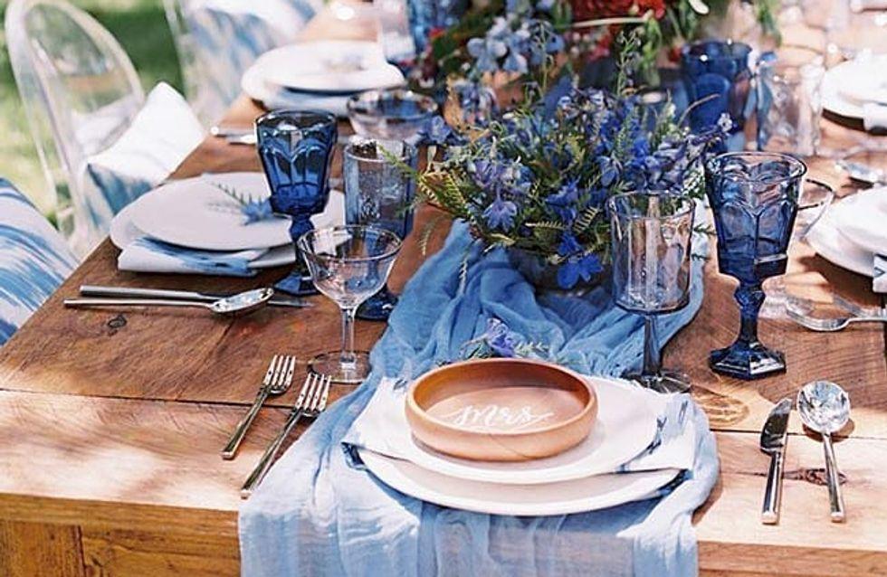 Las 3 claves para saber cómo decorar las mesas de vuestra boda