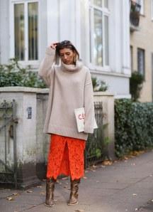 Lässiger Look mit Oversize-Pullover