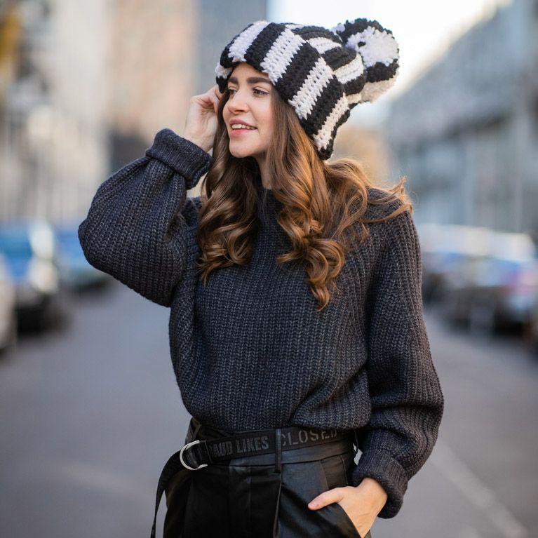reputable site ef0a9 4f3ac Pullover kombinieren: So stylt ihr Oversize-Pullover und Rollis!