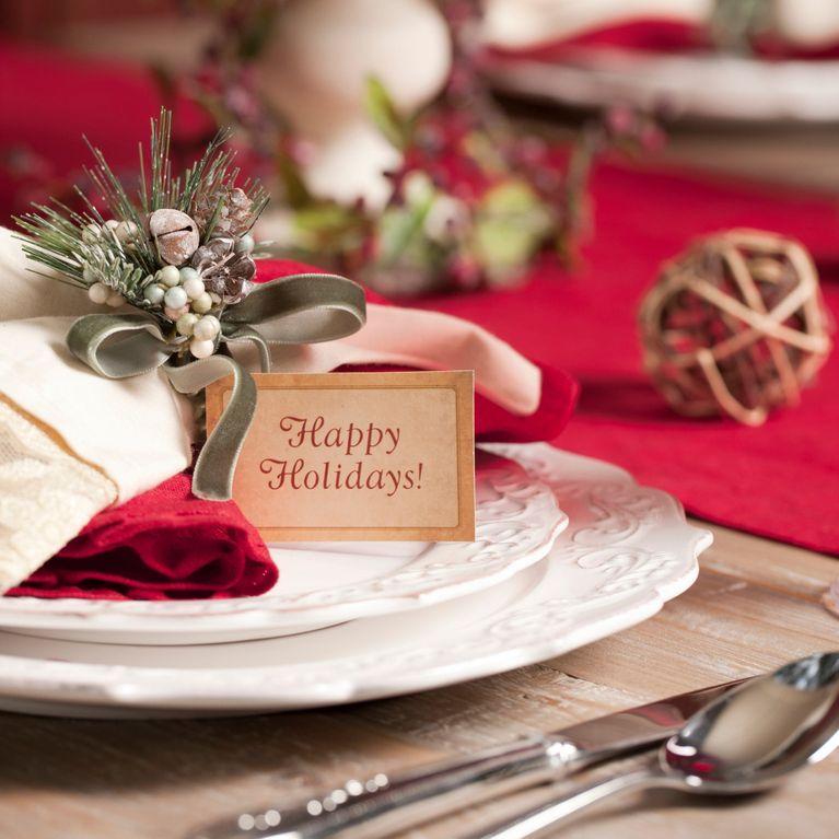Segnaposto Per Matrimonio Natalizio : Segnaposti natalizi fai da te: 5 idee semplici per stupire gli ospiti!