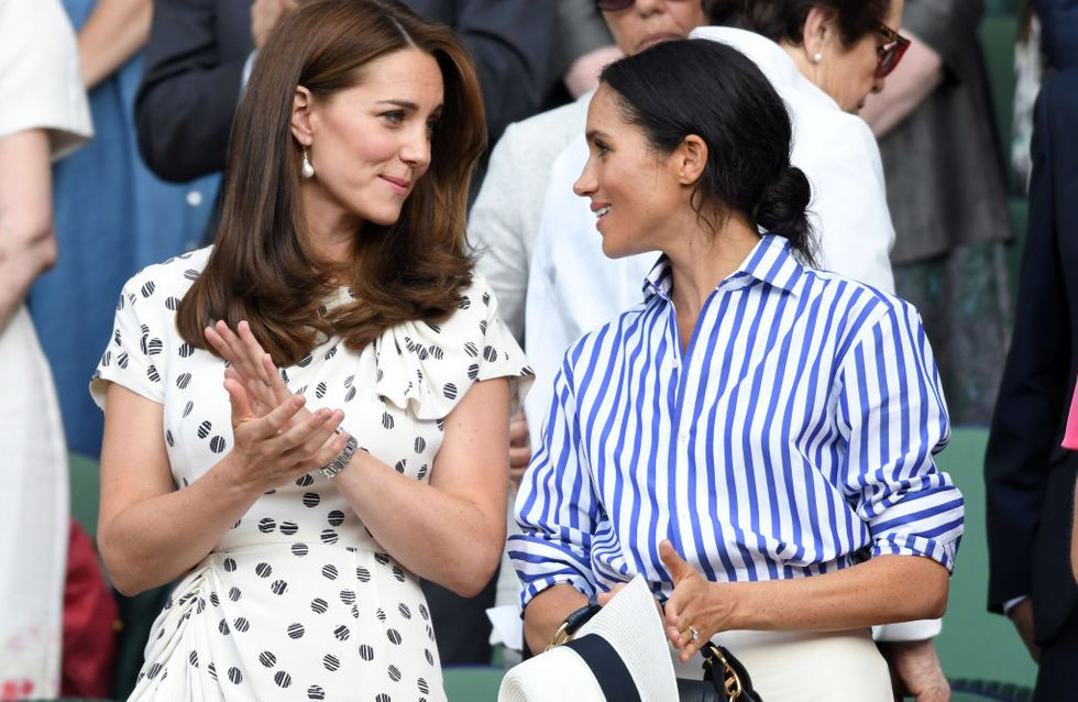 Kate Middleton a-t-elle giflé Meghan Markle? Buckingham Palace dément les rumeurs