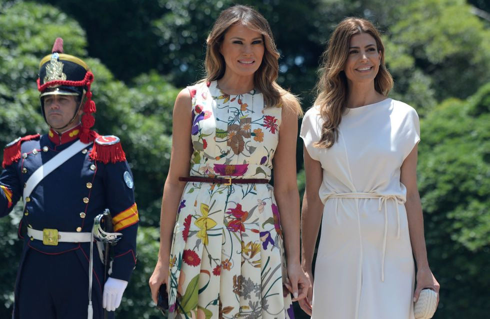 Melania Trump, Brigitte Macron et Juliana Awada, trio glamour de premières dames en Argentine