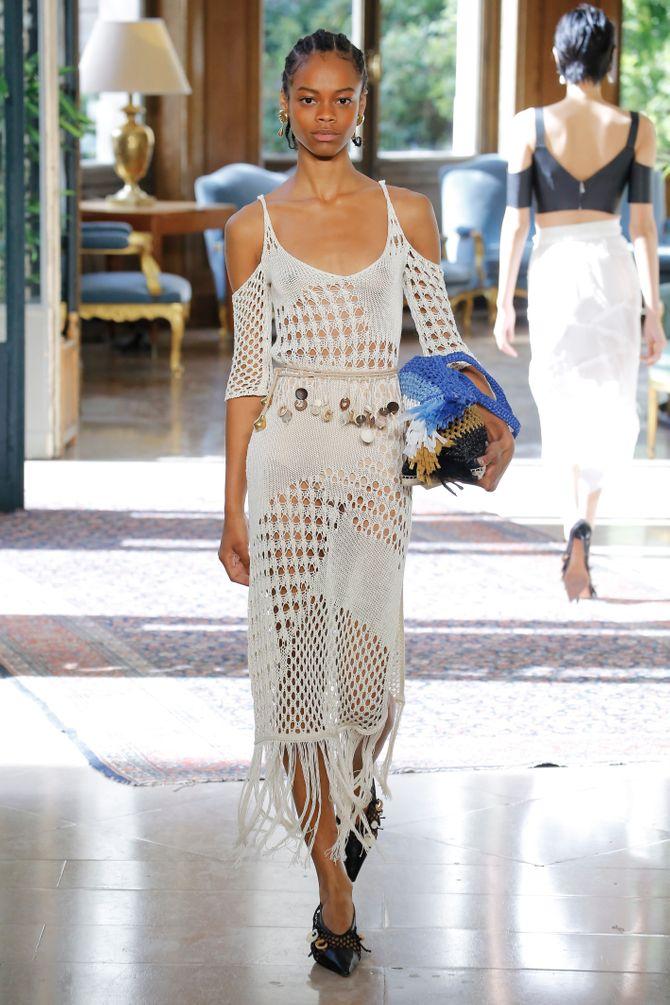 Modetrends Frühjahr/Sommer 2019: Häkelstrick