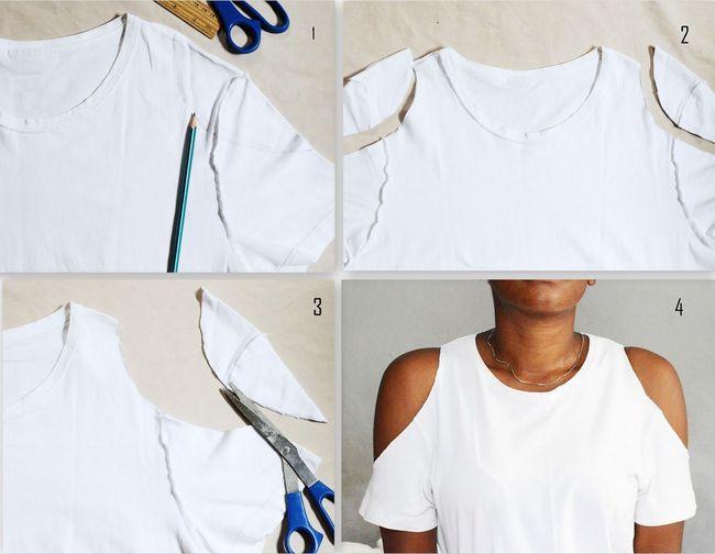 Un Vieux Pour Et T Réutiliser Diy Faciles Idées Shirt rhCdtxsQ