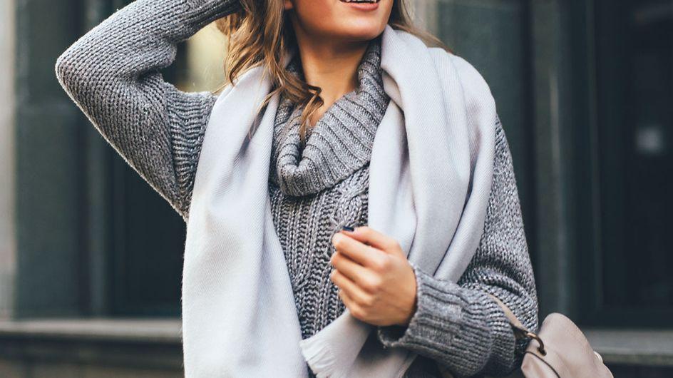 Trend-Kombis im Winter: Welche Farben passen zu Grau?