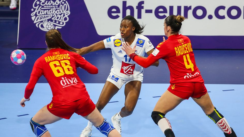L'équipe de France championne d'Europe au handball féminin