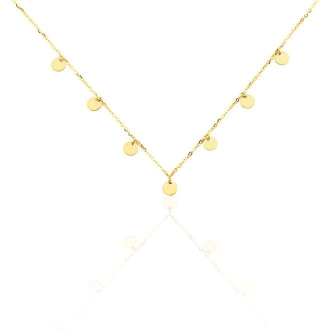 Collier à pampilles, Histoire d'Or, 129€