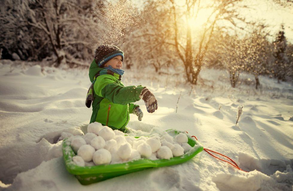 Ce garçon de 9 ans met fin à l'interdiction des batailles de boules de neige dans sa ville
