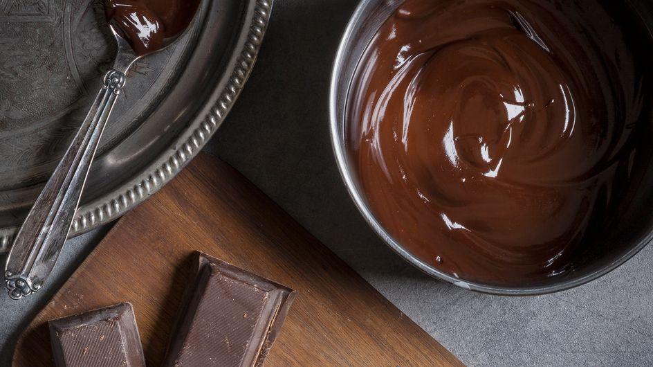 La ganache au chocolat, c'est facile finalement (la preuve !)