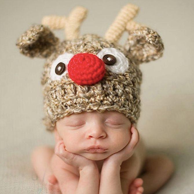 bonnet bébé Animal
