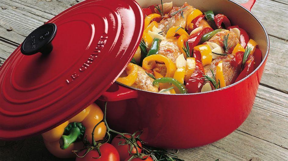 Jusqu'à -47% sur une sélection de plats en fonte... Le Creuset is back !