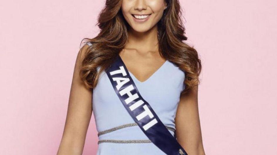 Miss Tahiti est sacrée Miss France 2019
