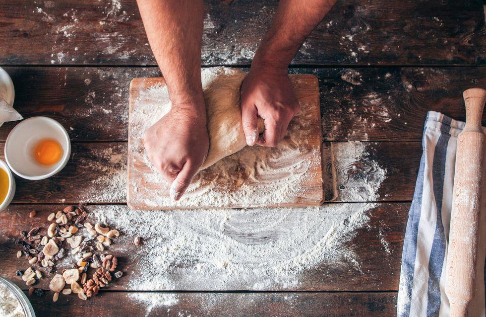 ¡Con las manos en la masa! Receta de pan con castañas y arándanos rojos