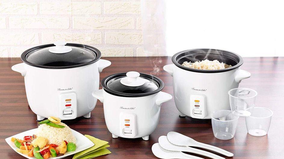 Pour cuire le riz facilement, découvrez 5 cuiseurs à riz à petit prix