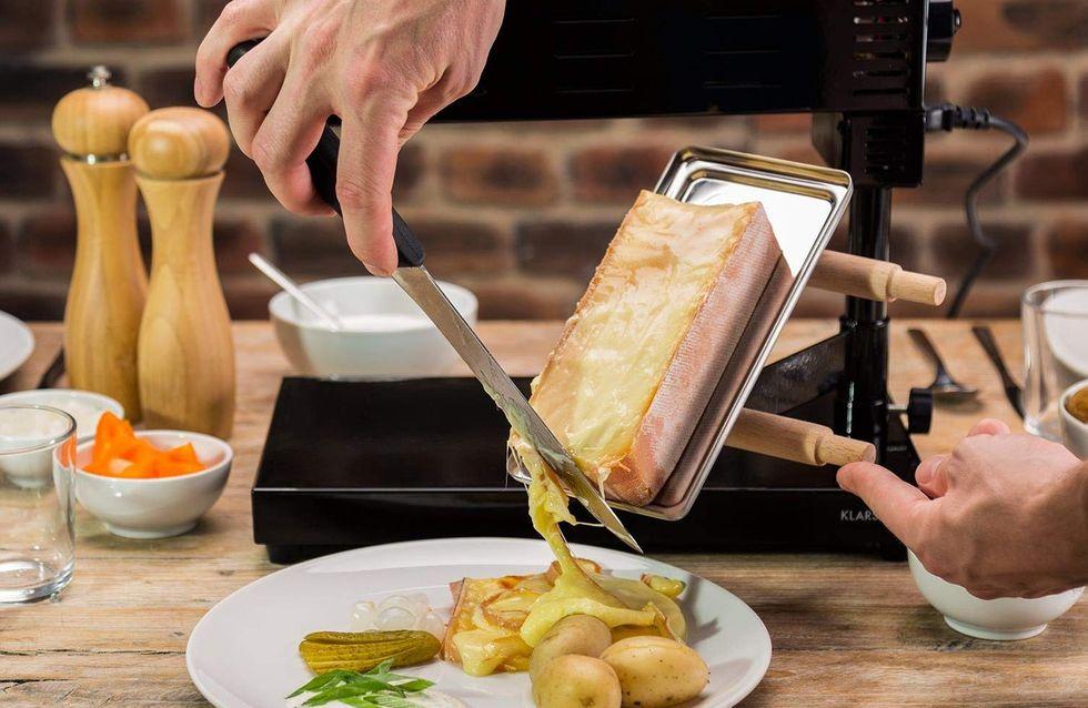 Pour déguster une vraie raclette, offrez-vous un appareil traditionnel...