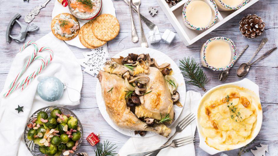Revisitez le traditionnel menu de Noël : saumon, foie gras, dinde et bûche... autrement !