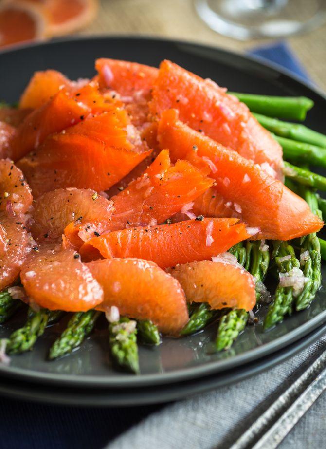 Une entrée qui passe bien avec du saumon et du pamplemousse.