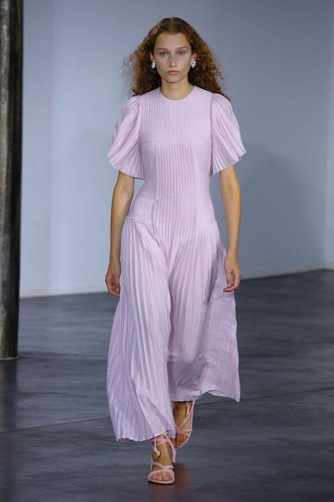 Ladvendelrosa ist eine der Modefarben 2019