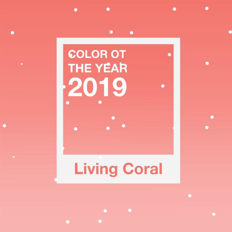 El Color Living Será Del 2019 Coral Ygb7yvIf6