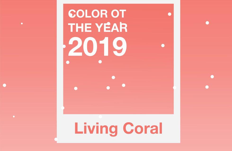 El Living Coral será el color del 2019