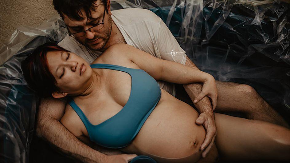 Les pères aussi ont un rôle à jouer durant l'accouchement ! La preuve avec cette série photo époustouflante