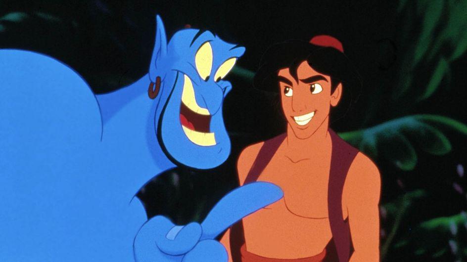 Les premières images du live action de Aladdin sont là… Découvrez Will Smith en génie