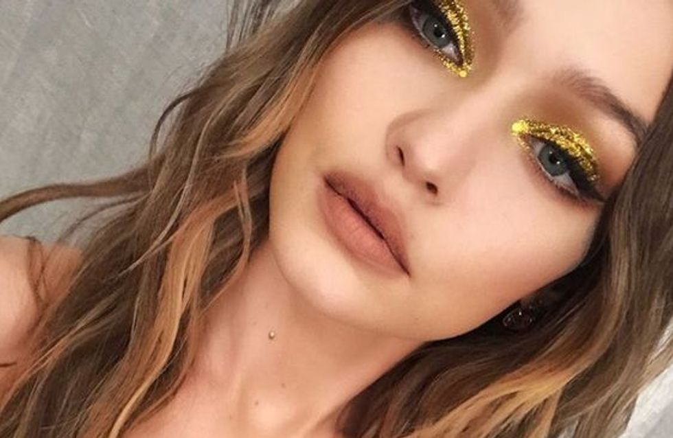 Cómo hacerte un maquillaje glitter paso a paso para brillar estas navidades