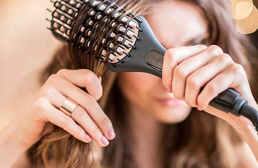 Offrez-vous des cheveux brillants grâce aux brosses lissantes Remington