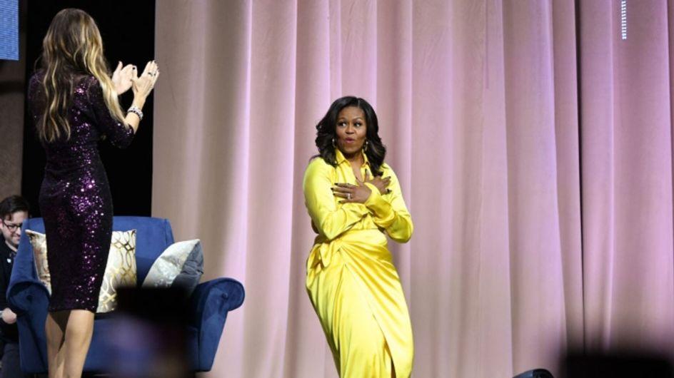 Michelle Obama fait sensation avec ses cuissardes à 3000 euros !