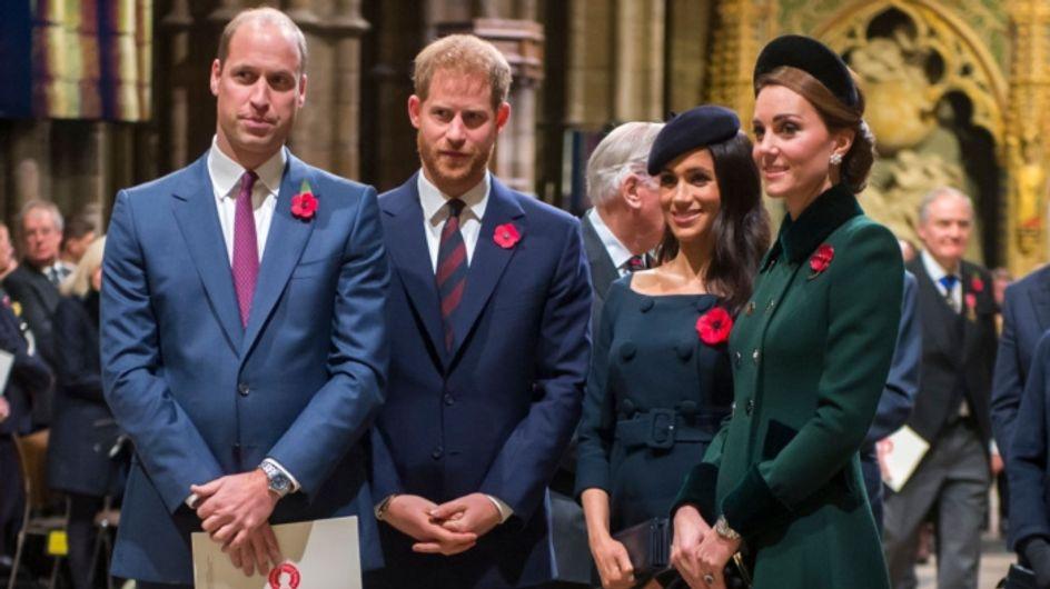 William, Kate, Harry et Meghan : leurs meilleurs moments 2018 en vidéo !